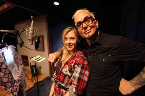 """This Land is Your Land"" performed by Liz Phair and Everclear for upcoming documentary FARMLAND, in theatres May 1st. Photo credit: Chelsea Lauren"