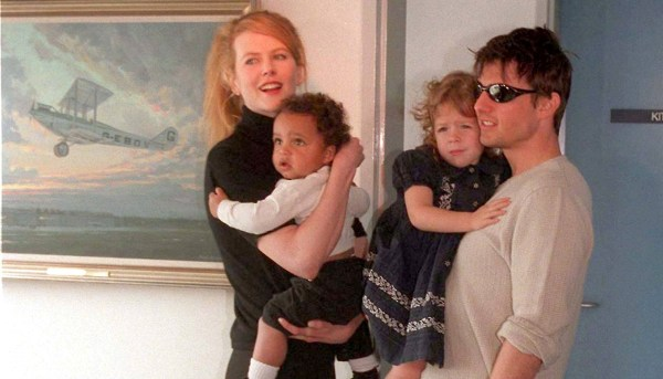 Nicole Kidman, Connor Cruise, Isabella Cruise & Tom Cruise