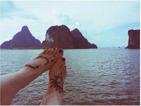 kylie feet