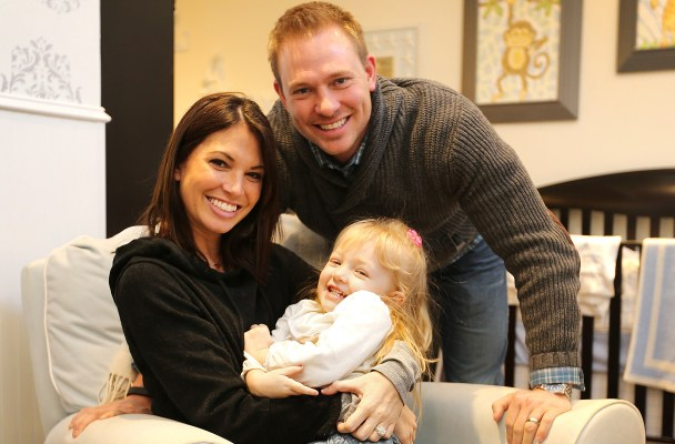 Melissa Rycroft, hubby Tye Strickland and daughter Ava welcomed a new addition to their family, Beckett Thomas, on April 20, 2014.