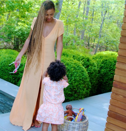 blue and beyonce