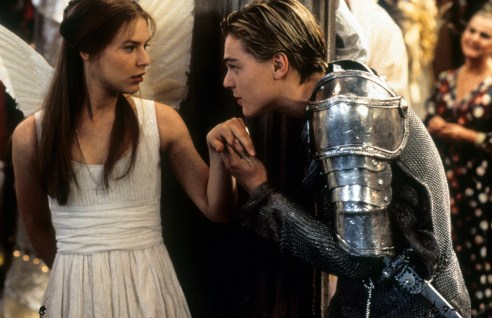 Claire Danes And Leonardo DiCaprio In 'Romeo + Juliet'