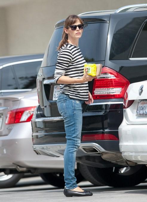 Celebrity Sightings In Los Angeles - August 02, 2014