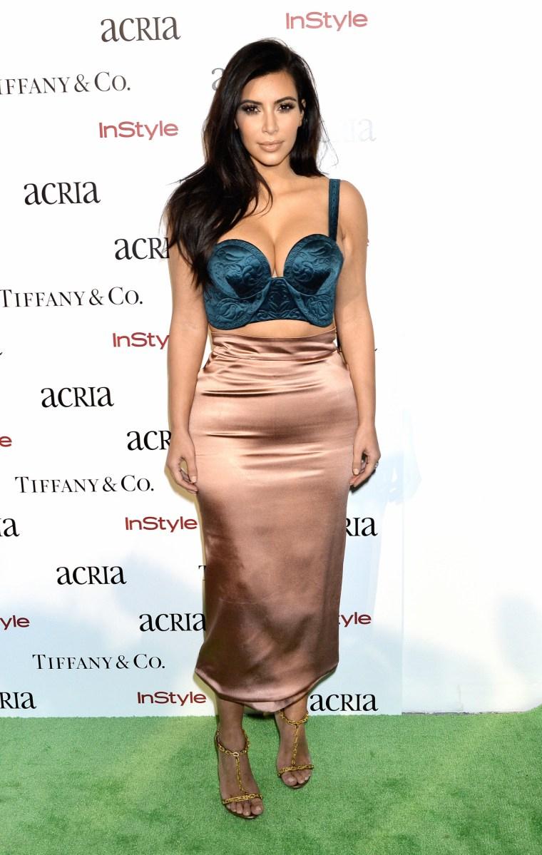 Kim Kardashian Blames God For Pregnancy Weight Gain | Star ...