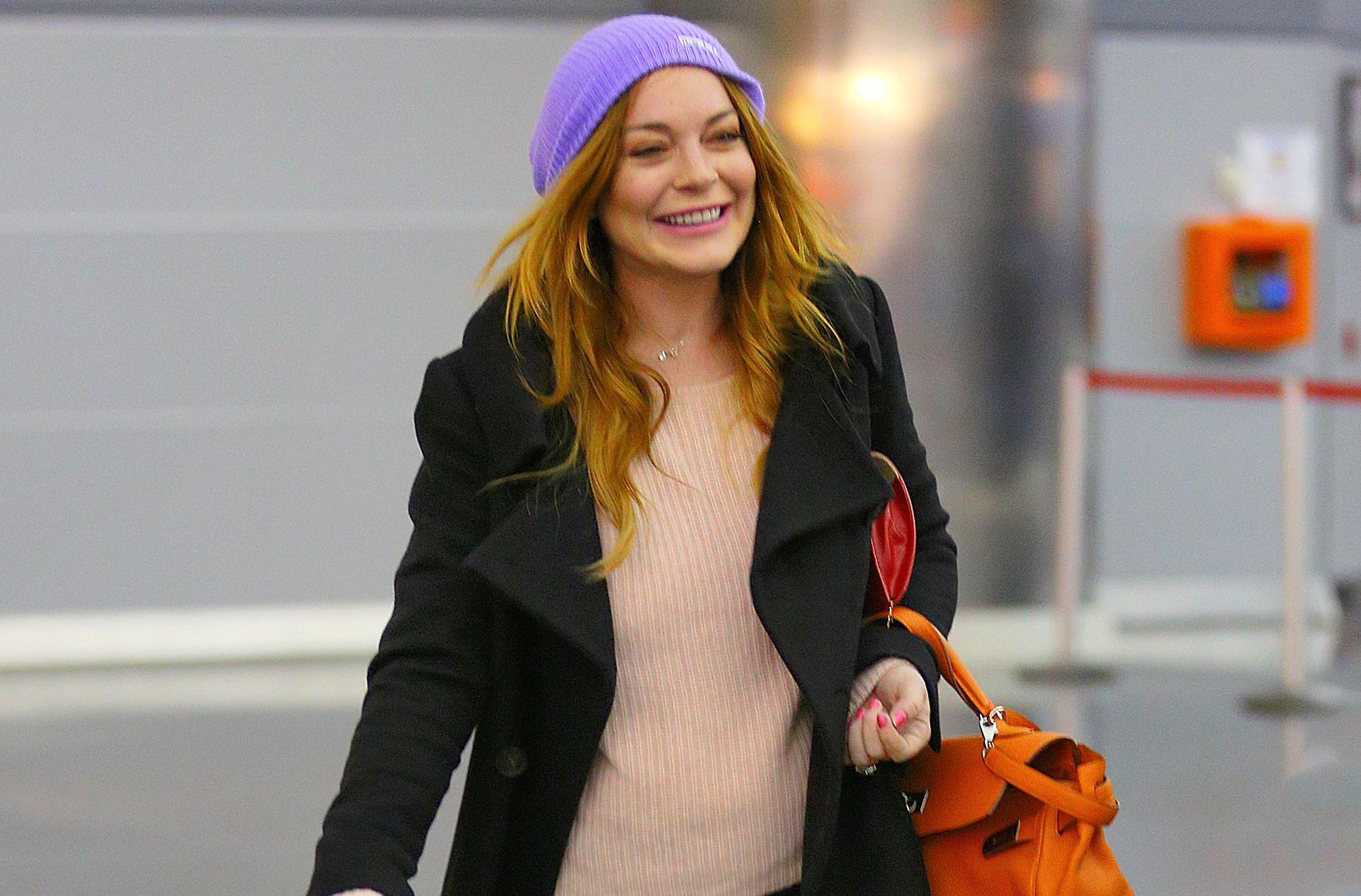 Lindsay Lohan Sick