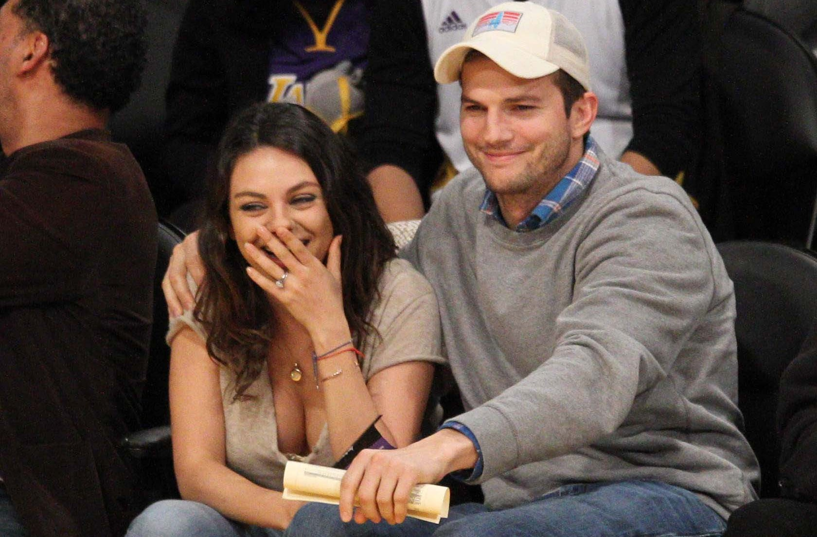 Ashton Kutcher and Mila Kunis Wedding