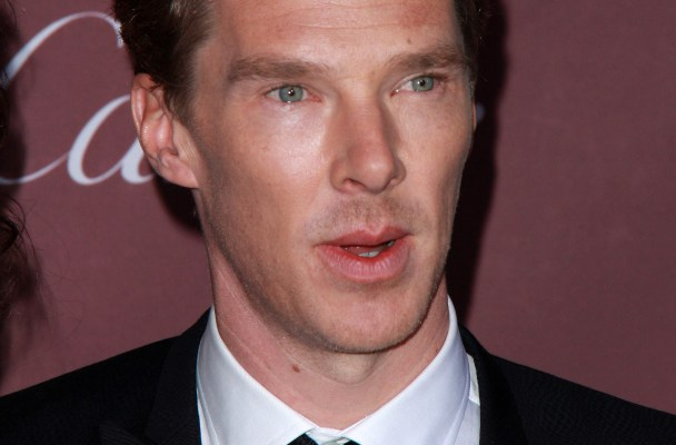 Newly-engaged Benedict Cumberbatch and fiancee Sophie Hunter attend Palm Springs Film Festival