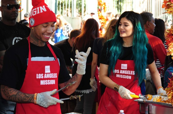 Kylie Jenner, Tyga Dating