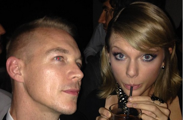 Taylor Swift and Diplo Feud