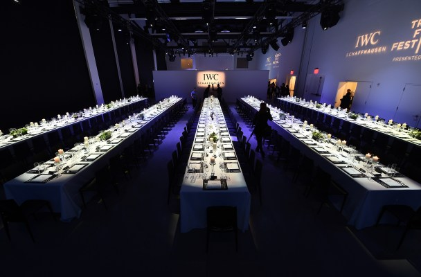 "IWC Schaffhausen Third Annual ""For The Love Of Cinema"" Gala During Tribeca Film Festival - Inside"