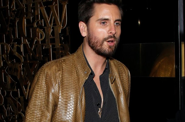 Scott Disick at 1OAK