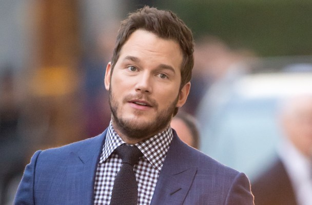 Chris Pratt is seen at 'Jimmy Kimmel Live' in Los Angeles, California.  Pictured: Chris Pratt Ref: SPL1050266  090615   Picture by: RB/Bauergriffin.com