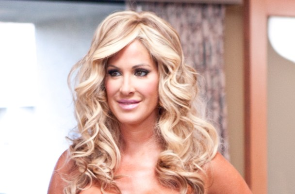 "THE REAL HOUSEWIVES OF ATLANTA -- ""White Party, Palm Springs"" -- Pictured: Kim Zolciak -- Photo by: Isabella Vosmikova/Bravo"