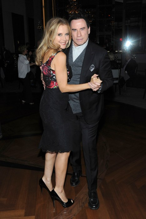 John Travolta and Kelly Preston Celebrate Her Birthday at theRainbowRoom