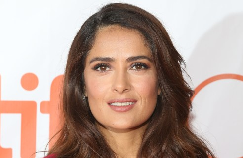 TORONTO, ON - SEPTEMBER 15: Actress Salma Hayek attends the premiere of u0027Septembers of Shirazu0027 at Roy Thomson Hall during the 2015 Toronto International Film Festival on September 15, 2015 in Toronto, Canada. (Photo by Taylor Hill/FilmMagic)