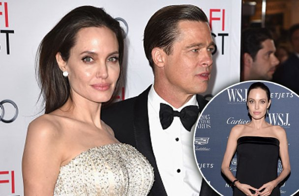 angelina jolie, brad pitt, weight, surgery
