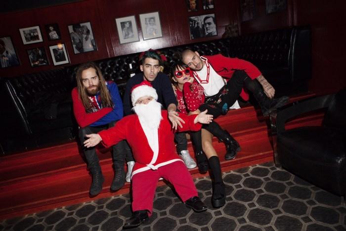 URLO , Joe Jonas and DNCEholidayparty