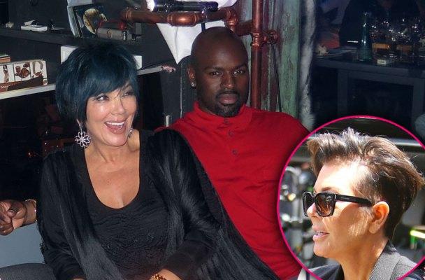Kris Jenner Bald Spot Wig Corey Gamble Date