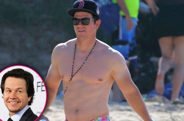 mark wahlberg shirtless hawaii