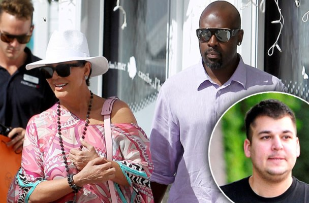 rob kardashian hospitalization kris jenner holiday photos