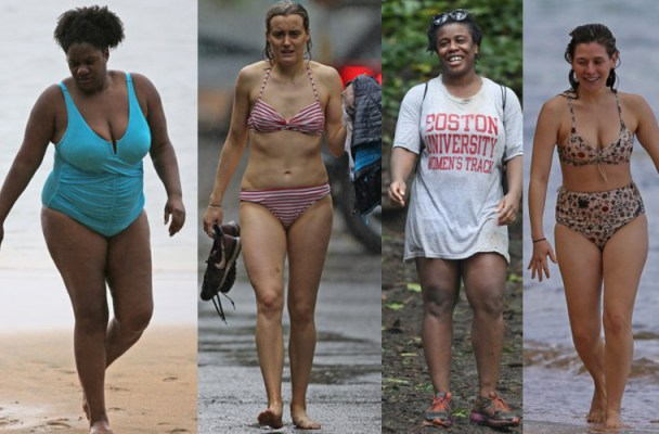 EXCLUSIVE: ** PREMIUM EXCLUSIVE RATES APPLY** STRICTLY NO WEB UNTIL  1130pm EST DECEMBER 28TH 2015**Taylor Schilling, Uzo Aduba, Yael Stone and Adrienne C Moore vacation together in Hawaii. They were seen hiking and swimming in the ocean even though it was pouring rain.  Pictured: Uzo Aduba Ref: SPL1197052  281215   EXCLUSIVE Picture by: Splash News  Splash News and Pictures Los Angeles:310-821-2666 New York:212-619-2666 London:870-934-2666 photodesk@splashnews.com