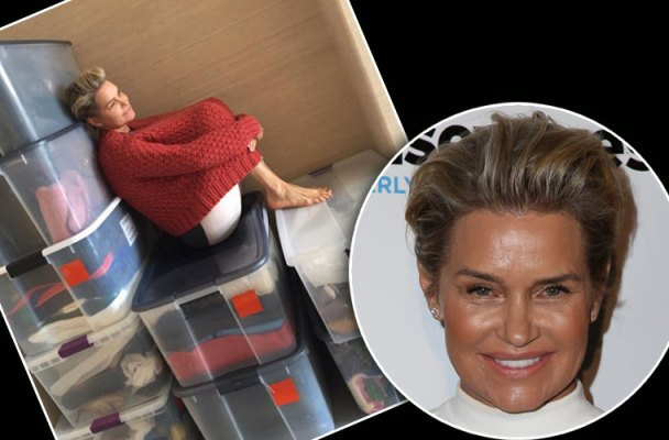 david foster yolanda foster divorce closet clothes instagram