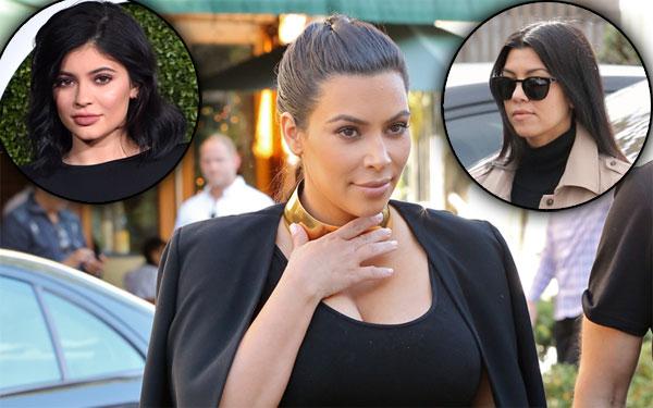 kourtney kardashian kylie jenner kim kardashian kuwtk feud