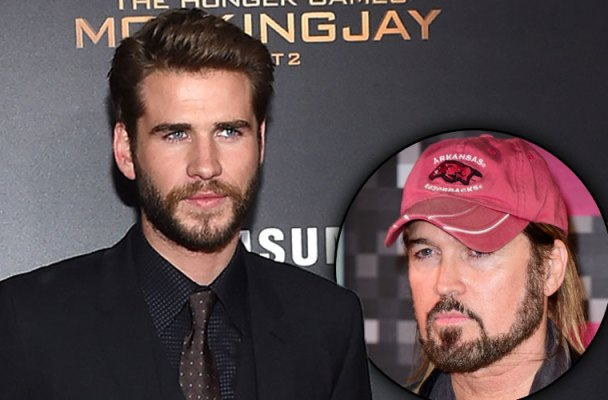billy ray cyrus liam hemsworth bromance miley cyrus