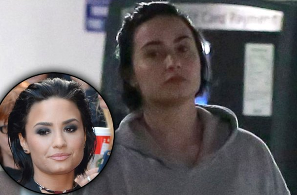 demi lovato no makeup gym pics