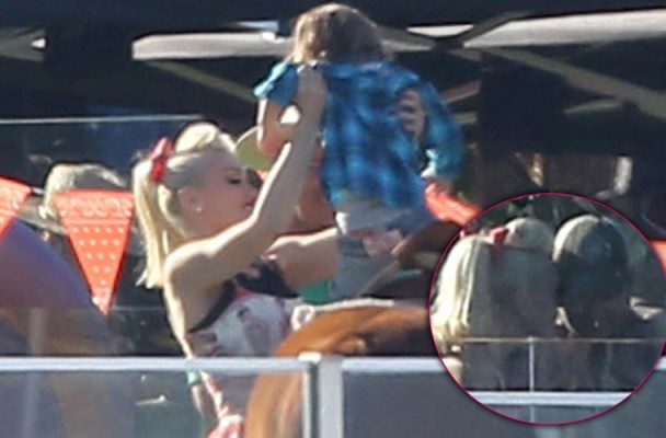 Gwen Stefani & Blake Shelton Throw Birthday Party For Apollo Rossdale