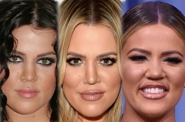 khloe kardashian kim kardashian kourtney kardashian plastic surgery kuwtk