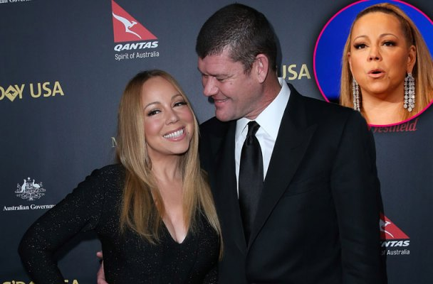 mariah carey engaged james packer twins