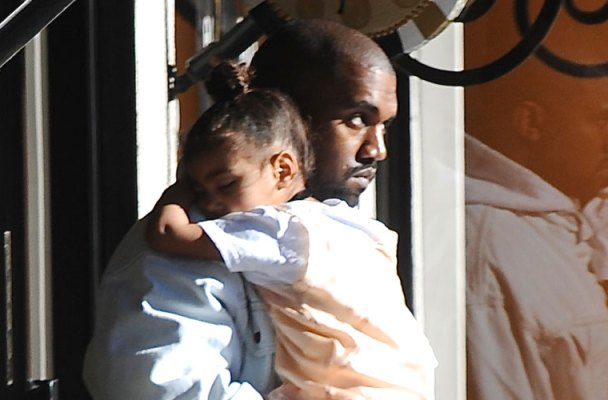 north west kanye west sleeping shopping kim kardashian instagram pics