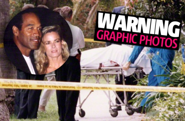 O.J. Simpson Trial -- Crime Scene Photos