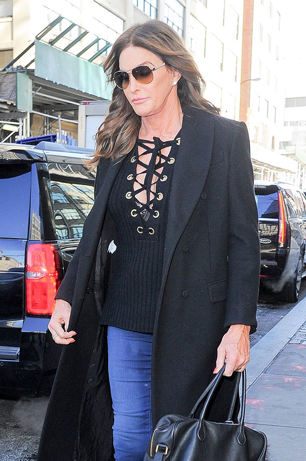 Caitlyn jenner caught in a wedding dress 8 signs the star s