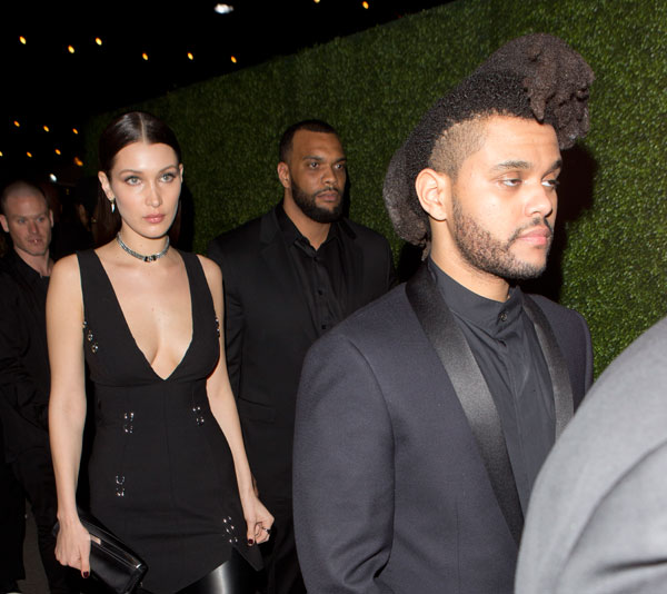 The Weeknd And Model Bella Hadid New Couple