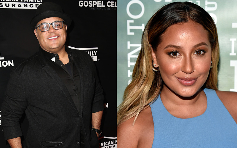 Who is Adrienne Eliza Bailon dating in 2017?