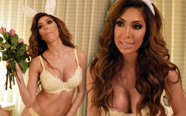 Farrah Abraham Naked Teen Mom Bunny Pin Up Calendar Photo Shoot Pics 5