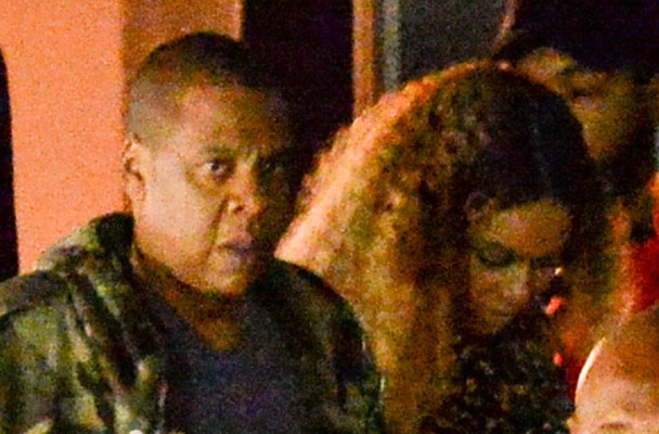 EXCLUSIVE: Jay Z accompanies Beyonce at the launch party for her first artist Sophie Beem in Hollywood  Pictured: JayZ and Beyonce Knowles Ref: SPL1241196  060316   EXCLUSIVE Picture by: Bruja / Splash News  Splash News and Pictures Los Angeles:	310-821-2666 New York:	212-619-2666 London:	870-934-2666 photodesk@splashnews.com
