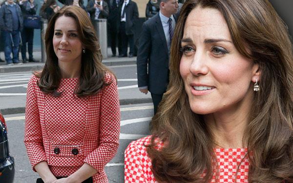 Kate Middleton Wrinkles Forehead Stress Skinny Pics 7