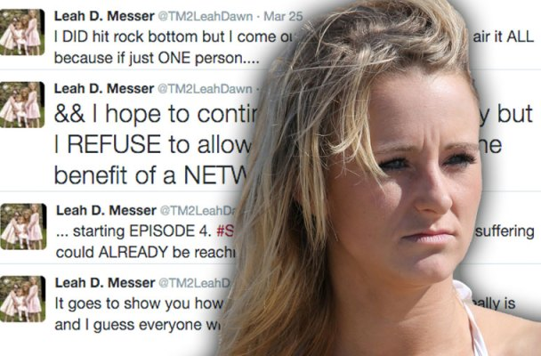 leah messer teen mom twitter feud mtv