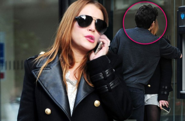lindsay lohan pda kissing career meltdown