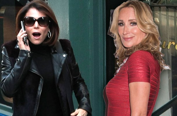 sonja morgan bethenny frankel tipsy girl rhony feud video