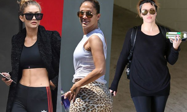 Celebrity-Workout-bodies-exercise-gear