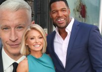 anderson cooper michael strahan leaveslive with kelly and michael