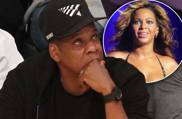 beyonce jay z divorce kobe bryant game alone