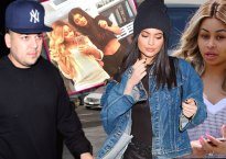 kylie jenner blac chyna friends rob kardashian reaction