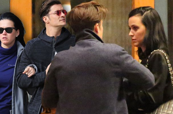 orlando bloom katy perry dating pda hotel