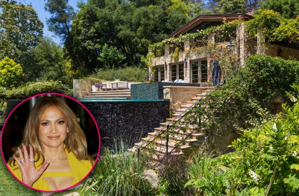 jennifer lopez mansion bel air pics