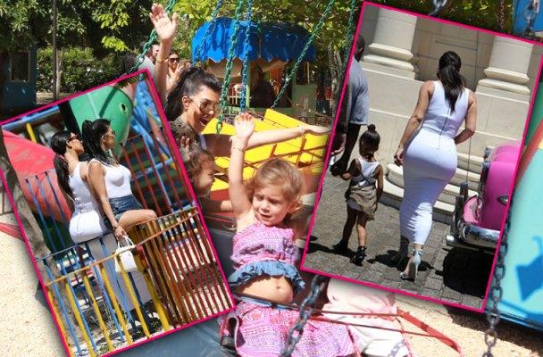 kim kardashian butt tight white dress cuba playground pics